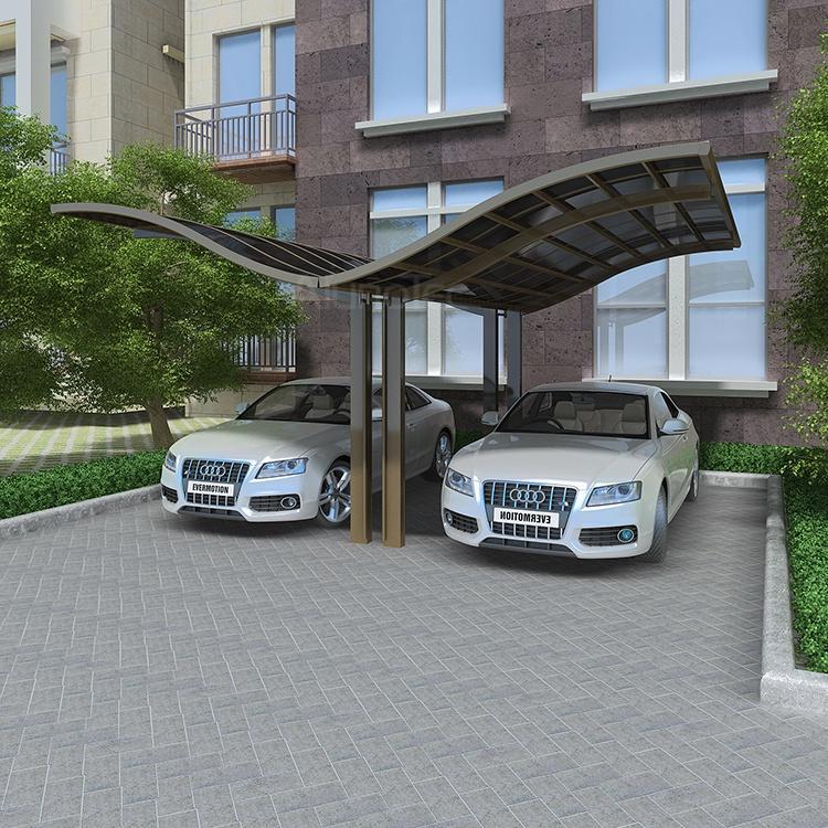 Carport Greenhouse Canopy : Waterproof outdoor aluminum carport sunshade cover buy