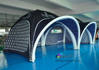 4X4m, 3X3M, 5X5M, 6X6M Inflatable Event Tent, Inflatable Exhibition Marquee, Advertising Inflatable Air Gazebo Tent with front roof
