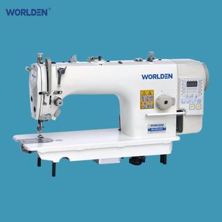 Wd-9910-D3直接传动双线缝纫缝纫机与自动整理者