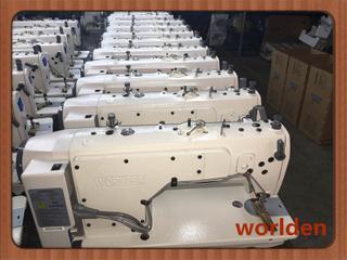 Wd-9910-D4计算机直接传动双线缝纫行业设备与自动修整