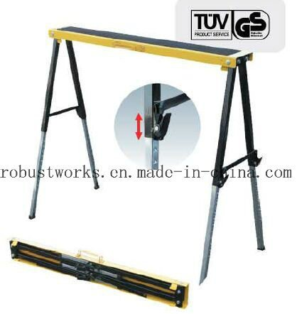 Metal Display Saw Horse Work Bench Stand for Glasses (MK-SH016B)