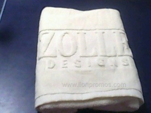 Hotel Customized Logo Jacquard Cotton Terryl Hand Towel