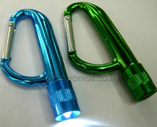 Outdoor Trip Camp Carabiner Flash Light