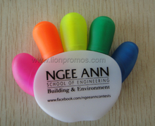 Hand Palm Shape 5C Custom Highlighter pen