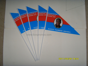 Election Campaign Hand Weaving Flag