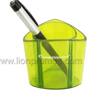 Custom Logo Printed Gift Acrylic Pen Holder