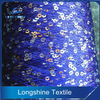 Hot Sales 100% Polyester Sequins Fancy Yarn for Knitting