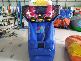 Indoor Inflatable Basketball Throwing Game For Sale