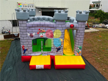 RB2015-8(4.5x5m) Inflatable Super Mario Inside and Outside Castle