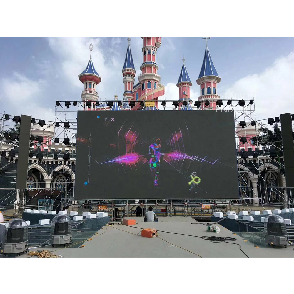 P3.91 Nationstar llevó la pantalla de pantalla LED móvil de Panel 500 * 500 mm para eventos de interior al aire libre