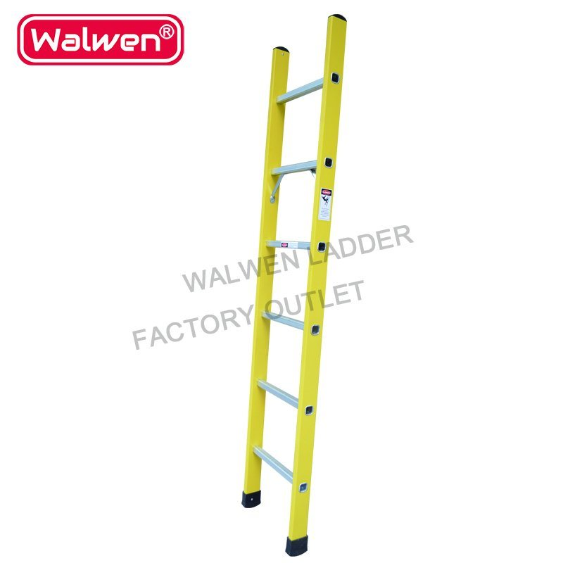 2 7m Aluminum Step Ladder, 9 Step Single Aluminium Ladder