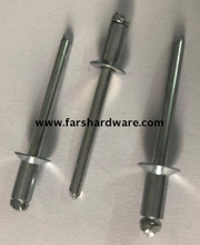 Aluminum steel countersunk pop rivet