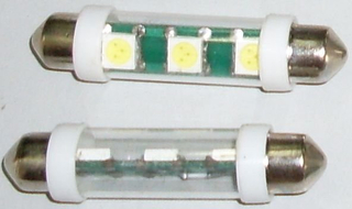 Lámpara LED (T10 * 46-3SMD)