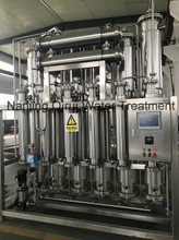 Industrial Used Stainless Steel SS Multi-Effect Water Distiller Equipment