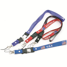 Customized USB disk lanyards with print logo for promotion