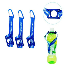 Customized bottle holder lanyards with print logo for advertising promotion