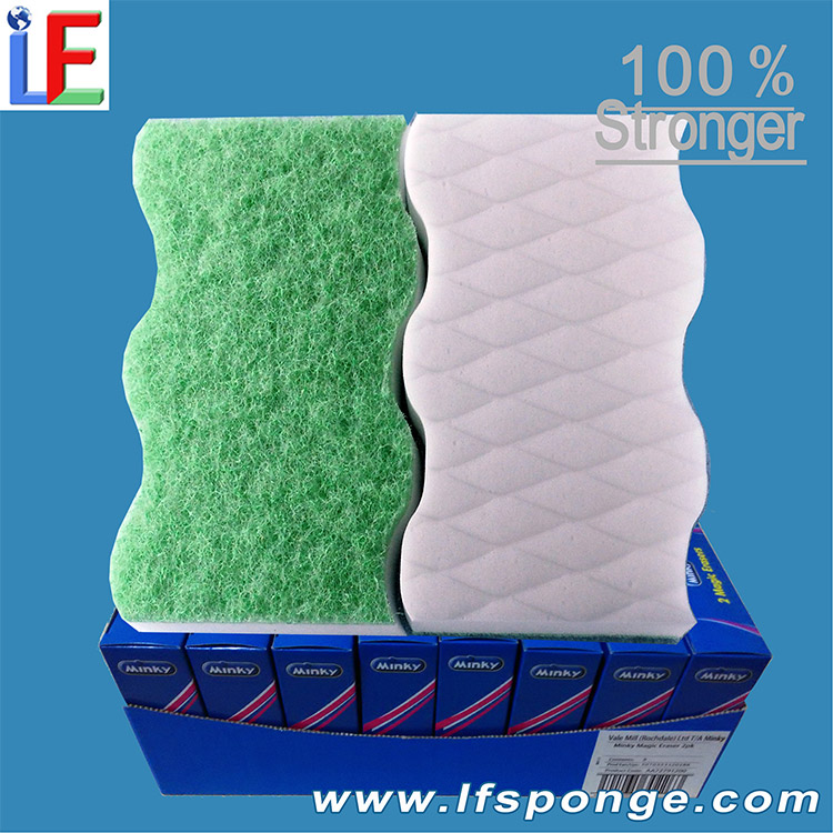 Compressed Magic Melamine Sponge Wholesale Melamine