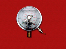 PG-060 Magnetic electric contact Pressure Gauges with liquid filled
