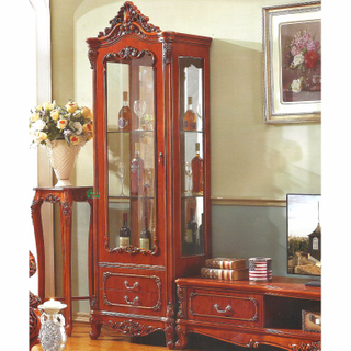 Wood Cellaret and Wine Cabinet for Living Room Furniture