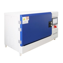 Bench-top UV lamp accelerated aging test chamber