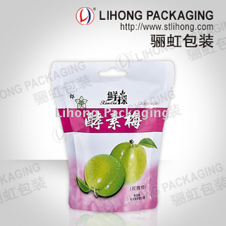 Rotogravure Print Food Packaging Bag For Dry Fruit
