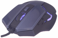 Computer Mouse/USB Wired Gaming Mice for PC Mouse Msg-X1 Gaming Mouse 7 Buttons 3200 Dpi Black