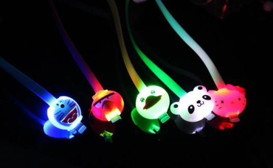 Cartoon Cable for iPhone6/iPhone6 Plug/iPhone 5/iPad Mini/iPad