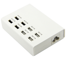 USB Socket with 8 Ports
