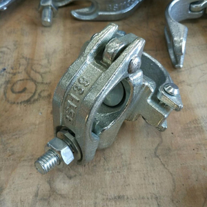 British Type Scaffolding Fittings Clamp Drop Forged Swivel Coupler