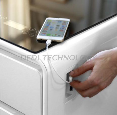 Dedi 43inch Touch LCD screen refrigerator tables