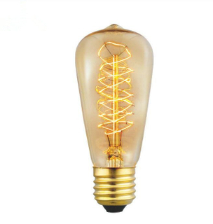 40W/60W E27 St48 Edison Bulb Antique Filament Lamp Retro Vintage Light 220V/240V