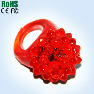 TPR flashing led ring