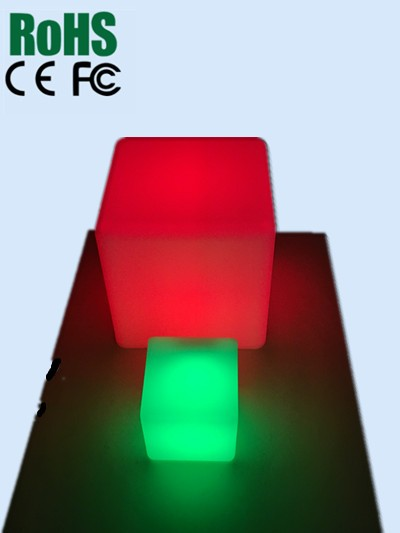 Customized colorful LED Cube light for promotion and gift