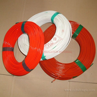 Silicone Rubber Insulation Fiberglass Sleeve 2751