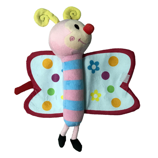 Cute Cartoon Plush Bee Toy Cloth Book for Baby