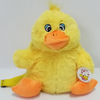 Plush Soft Cartoon Yellow Duck Backpack for Kids