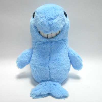 Cute Smiling Marine Animal Plush Toy Shark Doll Pillow