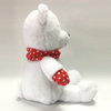 Gaint White Bear with Dot Scarf Stuffed Kids Toy