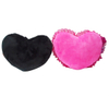 Inflatable Couple Travel Cushion Heart Shape Pillow With Love Words
