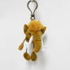 Custom Soft Plush Mamut Toy Keychain