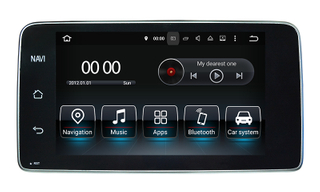 "9""Benz A/G/CLA/GLA (NTG4.5/4.7) Android 10.0 Car Dvd Players DAB+/OBD/DVD"