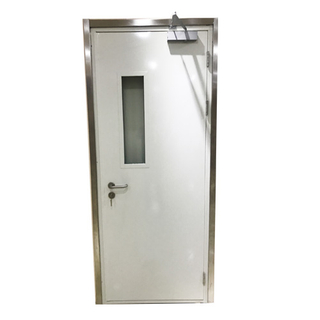single leaf steel fire rated door