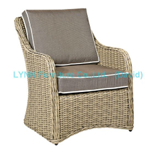 American Modern Design Single Wicker Sofa Garden Furniture