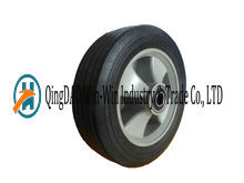 8 Inch Solid Rubber Wheels with Plasticl Rim for Small Trolleys