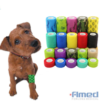 Non-woven Printed Cohesive Bandage for VET