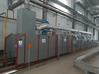 LPG Gas Anneal Furnace Heat Treatment