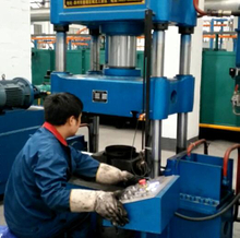 Gas Cylinder Handle Upper R forming machine