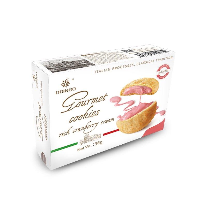 RGB 00058 Cranberry Cream Sandwich Cookie Dringo Rungu Food