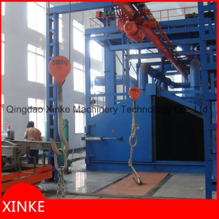 Large HooksType Wheel Shot Blasting Machine