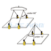 Horizontal Lifting Clamp, Item Code: 103### (Capacity: 2000-10000kg)